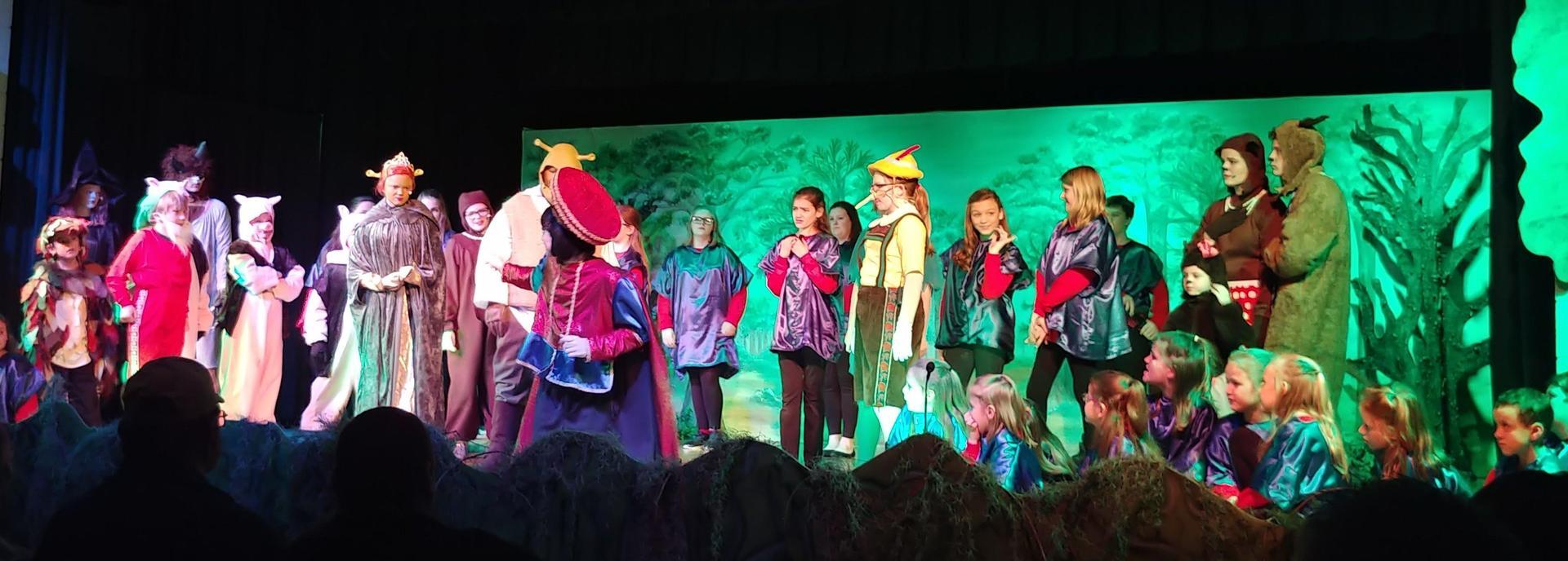 Children's Theater's Production of 'Shrek The Musical Jr.' in January 2018.