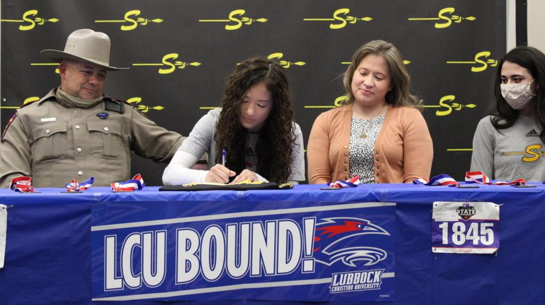 hailey davis cross country at lubbock christian university seminole high school