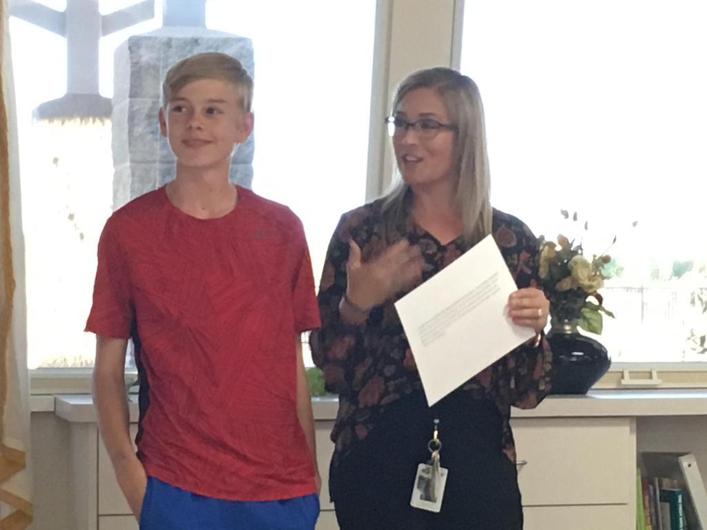 Outstanding Student Oct