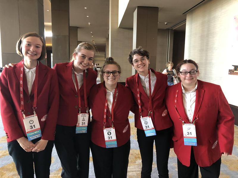 FCCLA Quiz Bowl Team Advances to  Nationals! Thumbnail Image