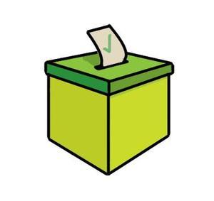 vote box clip art