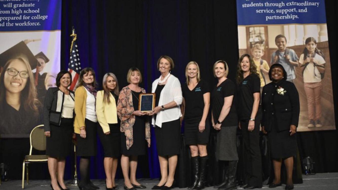 New Teacher Academy award at RCOE