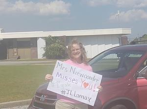 JL Lomax Teacher Parade