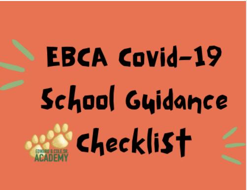EBCA Covid-19 School Guidance Checklist Featured Photo