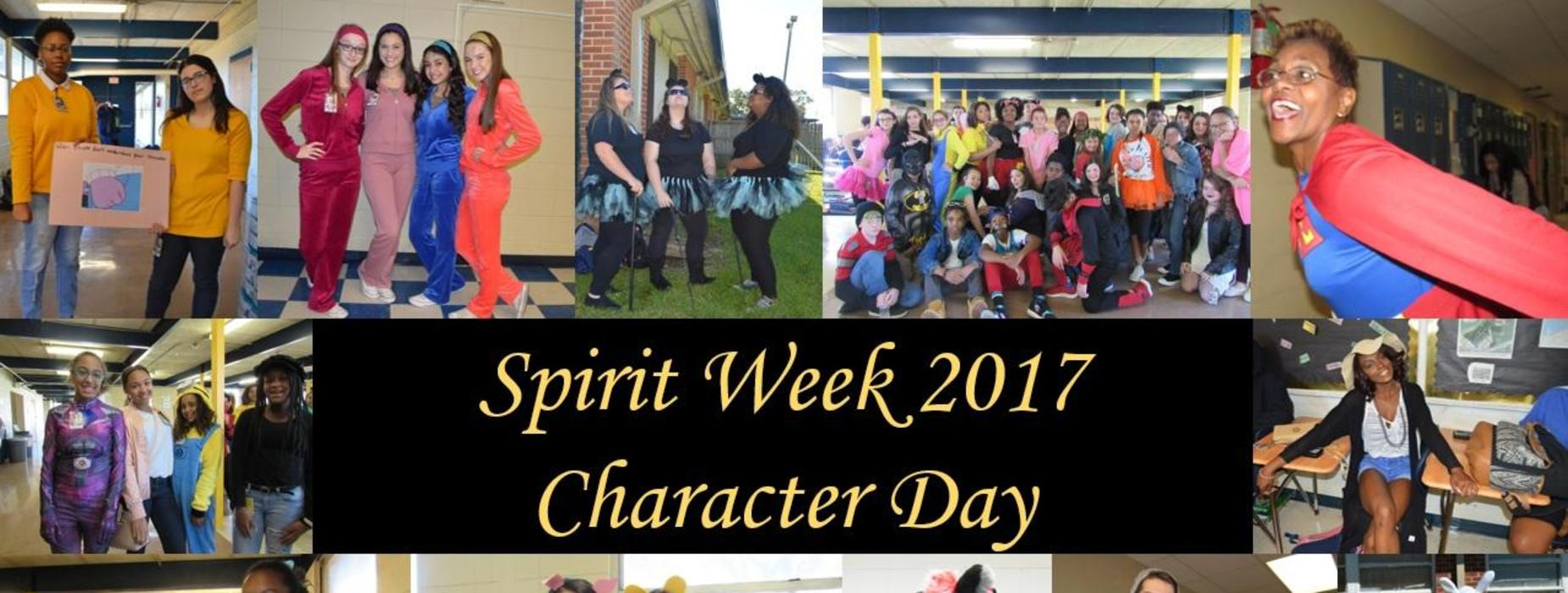 Spirit Week - Character