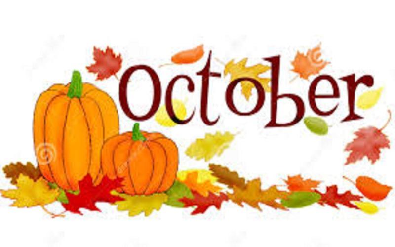 October 2018 Calendar Thumbnail Image