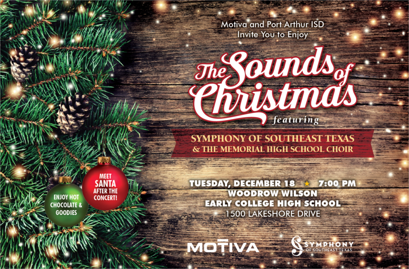sounds of christmas flyer