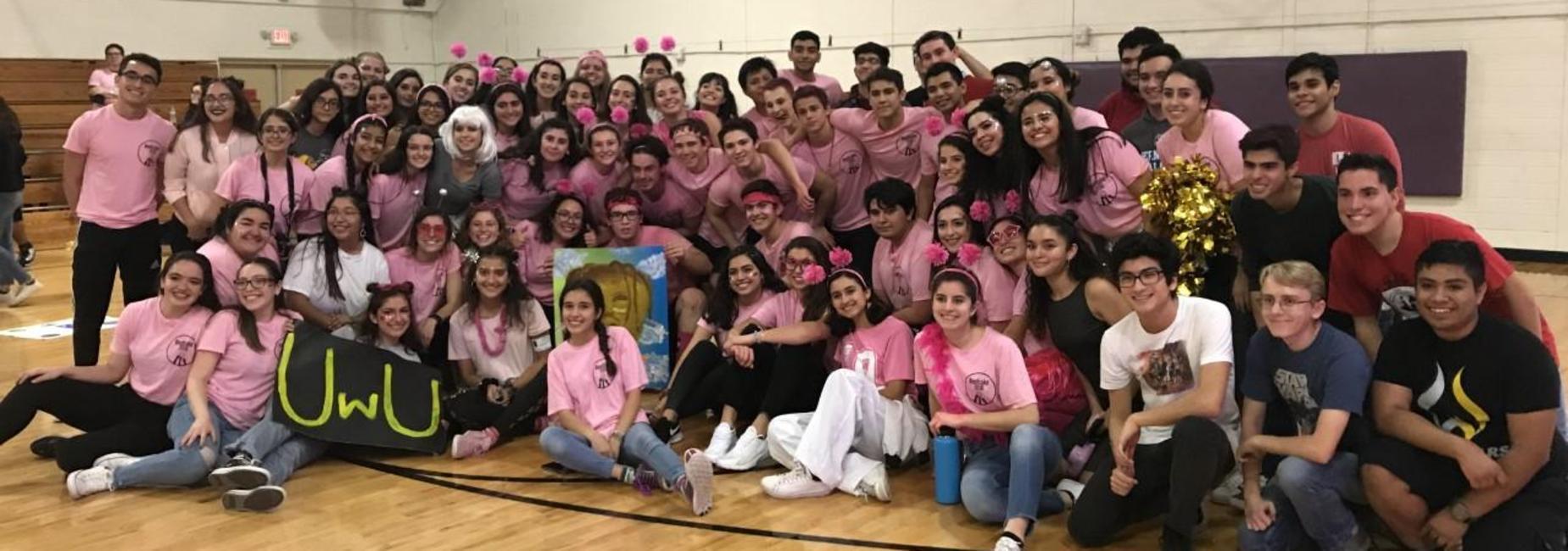 Lamar students at Beefcake