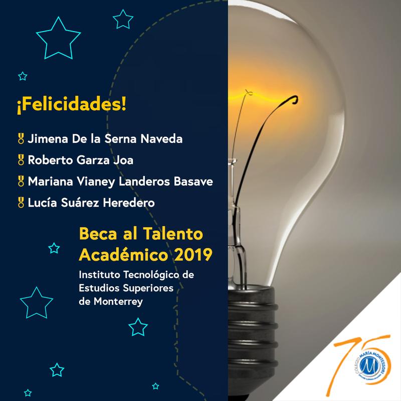 Alumnos del CMM ganan Beca al Talento Académico del TEC Featured Photo