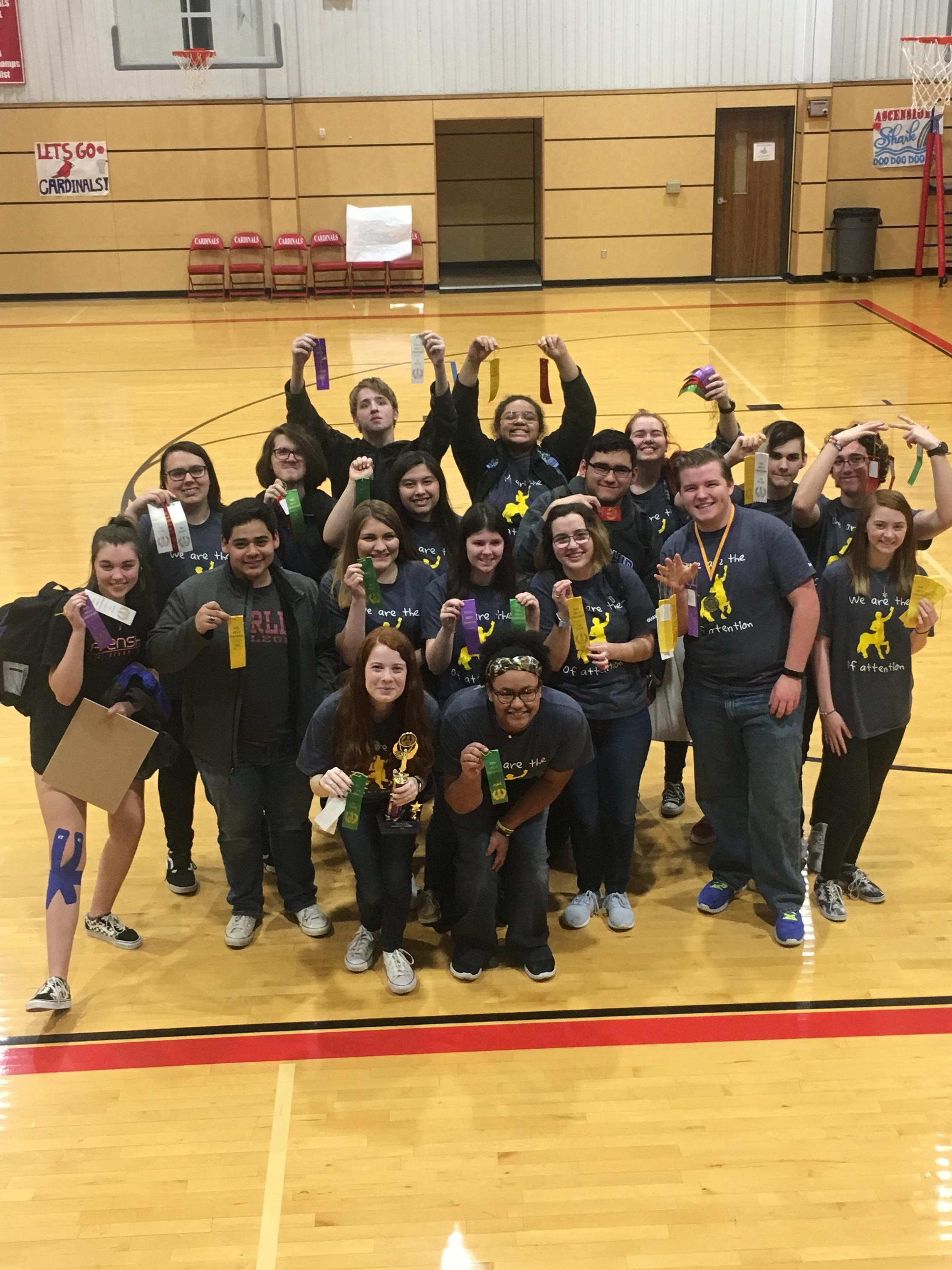 Winners at Area D Convention 2019: Ascension Academy