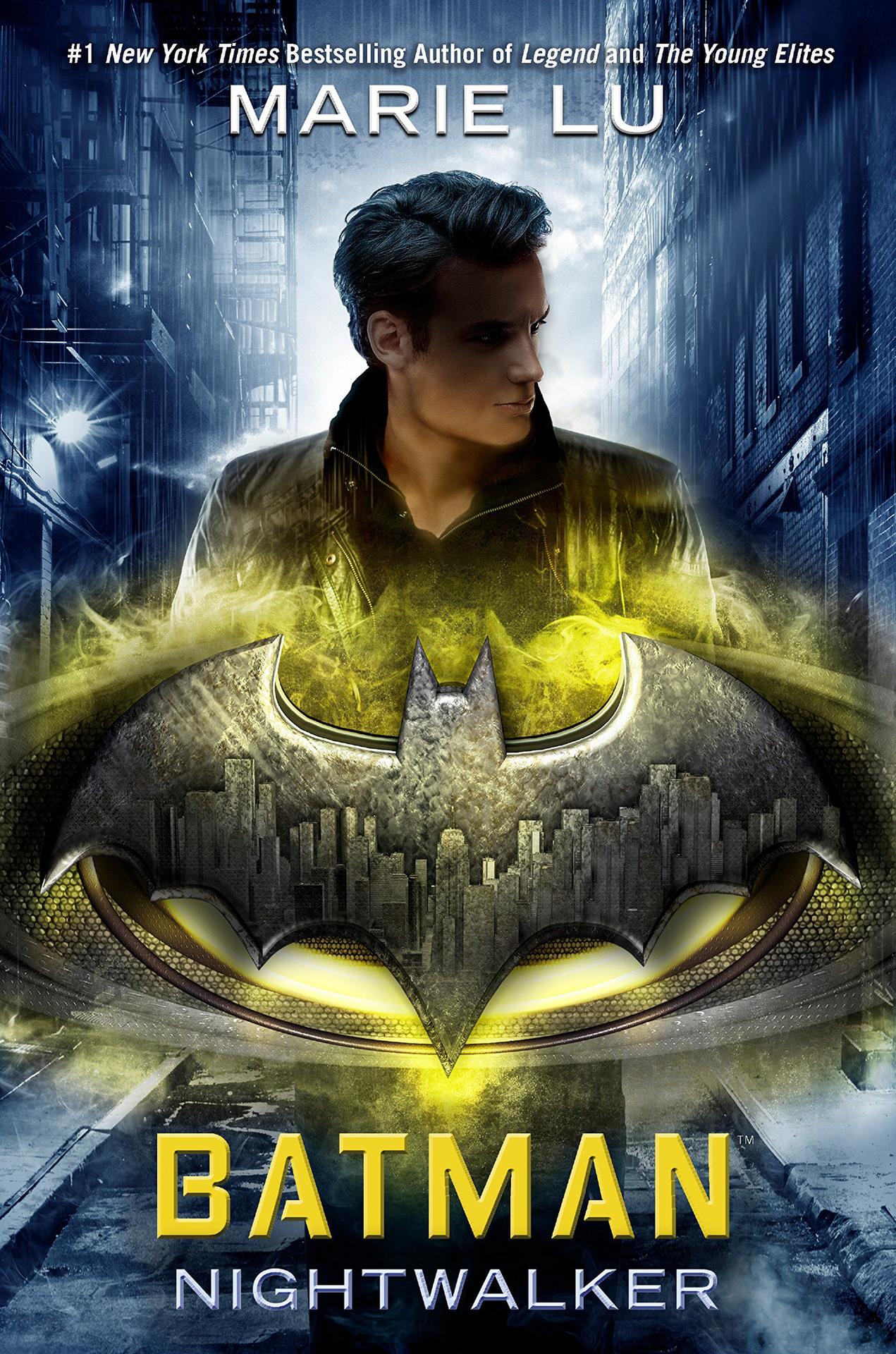 Book cover for Batman: Nightwalker