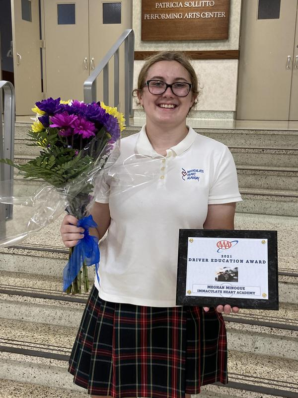 Meghan Minogue'23 Named Driver Ed Student of the Year Thumbnail Image