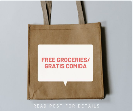 free groceries flyer