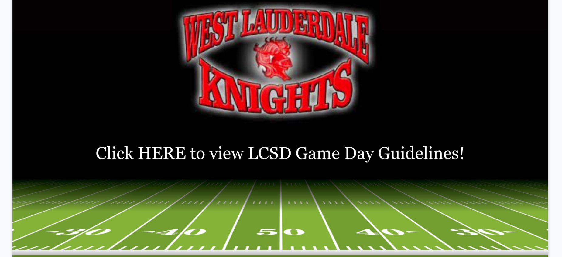 Click image to see LCSD Game Day Guidelines