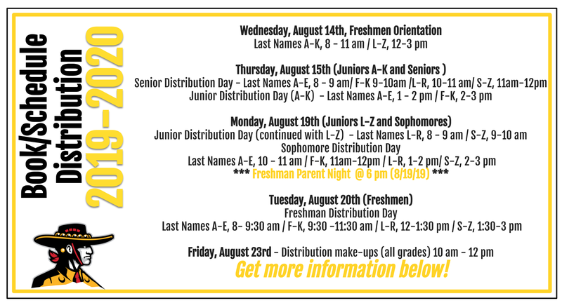 Fall Distribution and Orientation information for 2019-2020 school year Featured Photo