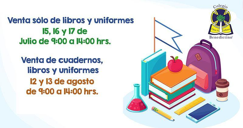 Venta de uniformes y libros para el Ciclo Escolar 2019-2020 Featured Photo