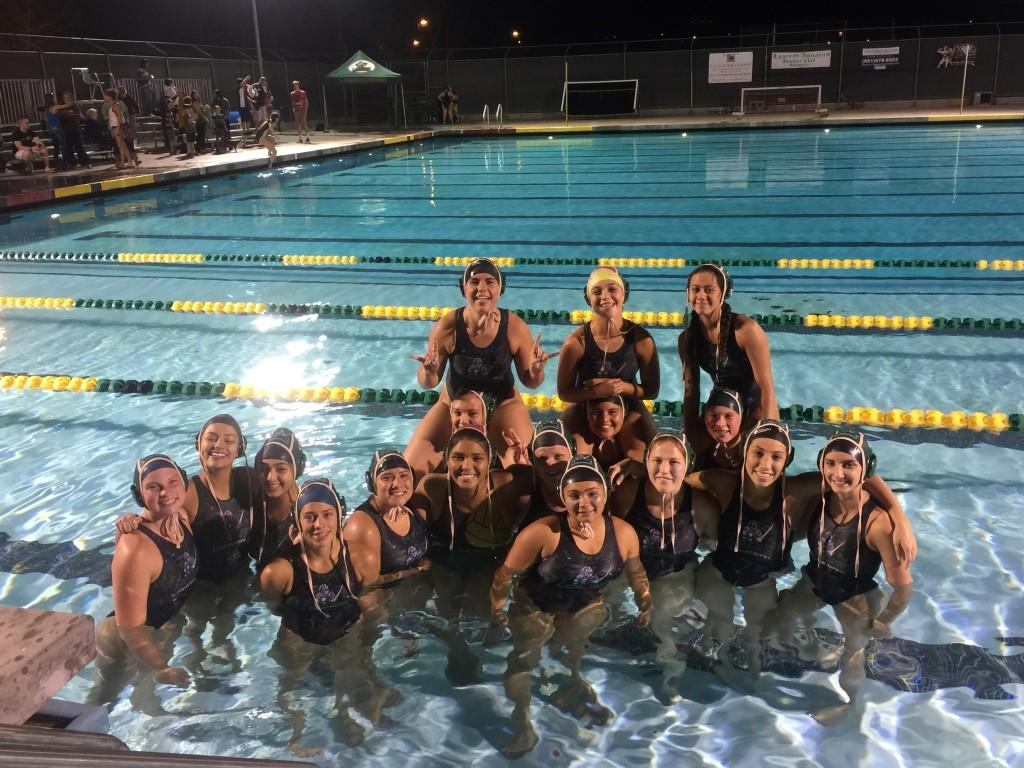 Girls Water Polo team.