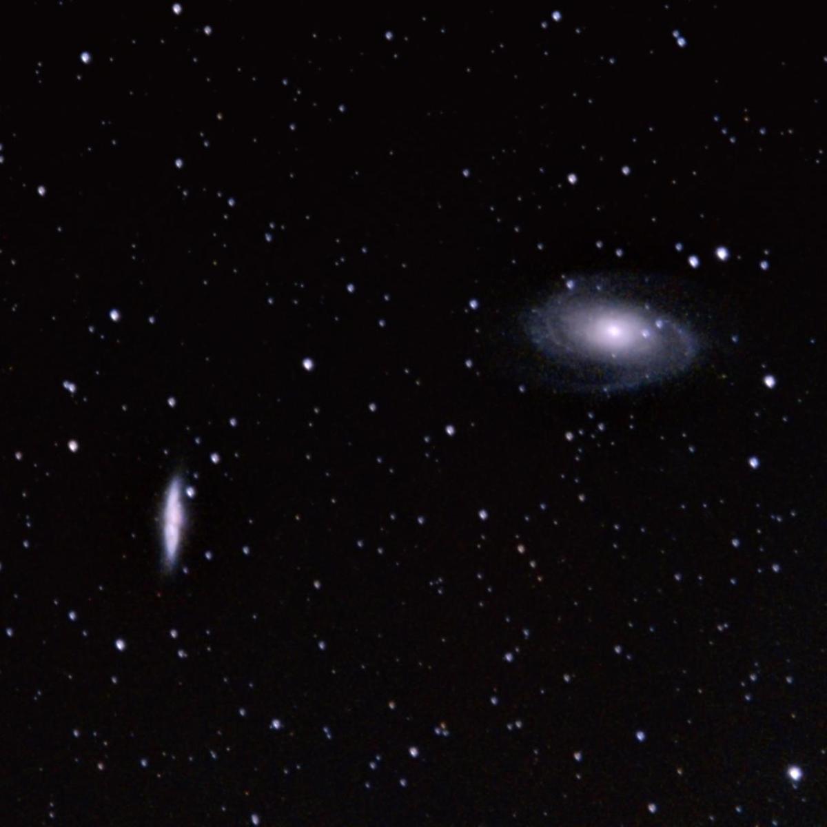 Cigar & Bode's Galaxies
