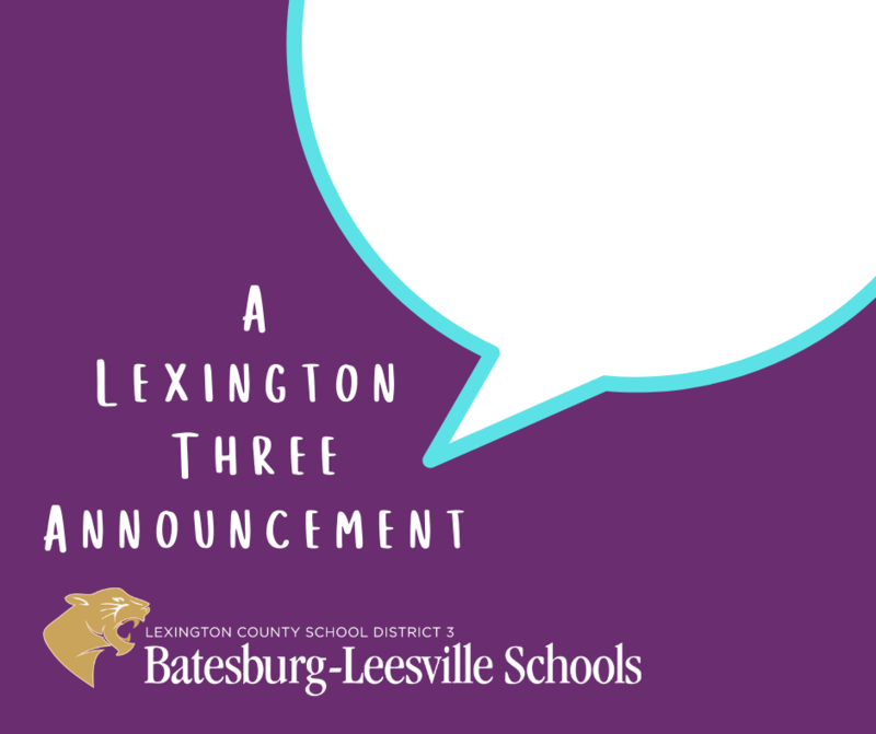 Lexington Three Administrators Announce Possibility of an E-Learning Day on Friday, March 5th