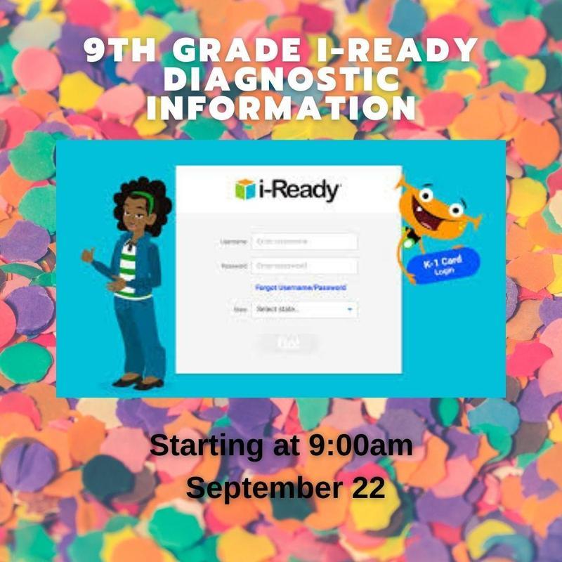 9th grade i-ready
