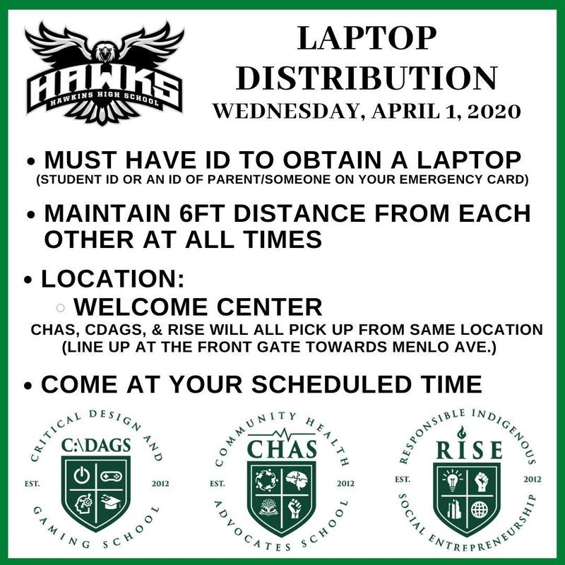 Round Two of Laptop Distribution on Wednesday, April 1st Featured Photo