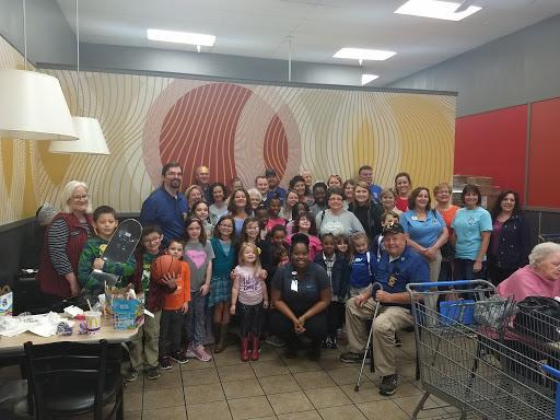 Group Photo After Cayce Lion's Club Shopping