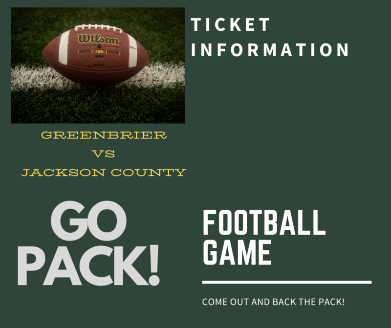 Football game ticket information