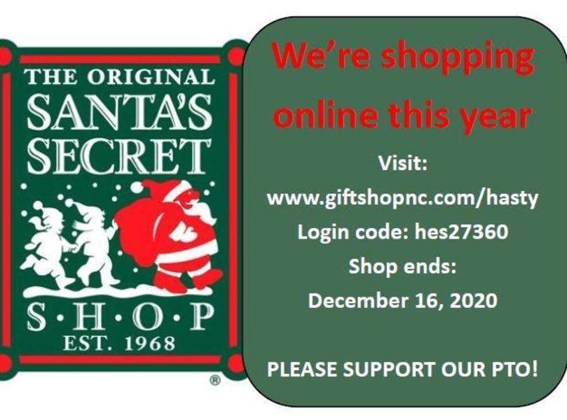 Online Santa Shop information