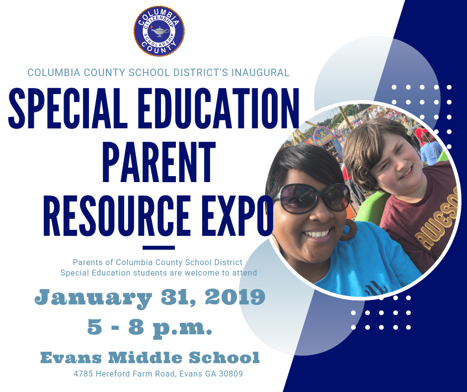 Columbia County School District's Inaugural Special Education Parent Resource Expo