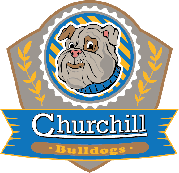 Churchill School logo