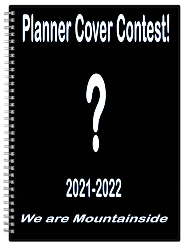 Planner Cover Contest blank planner