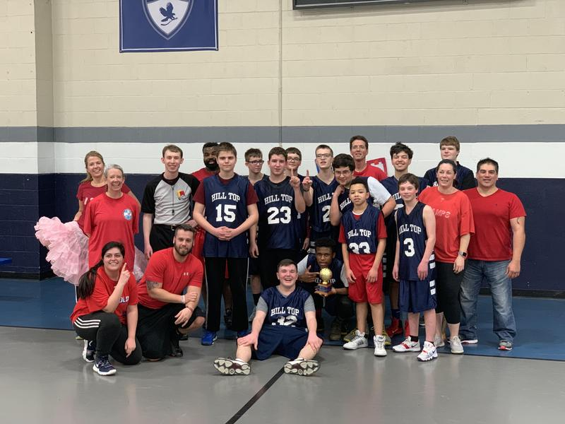 Students Dominate Faculty in HTP's Annual Basketball Game Featured Photo
