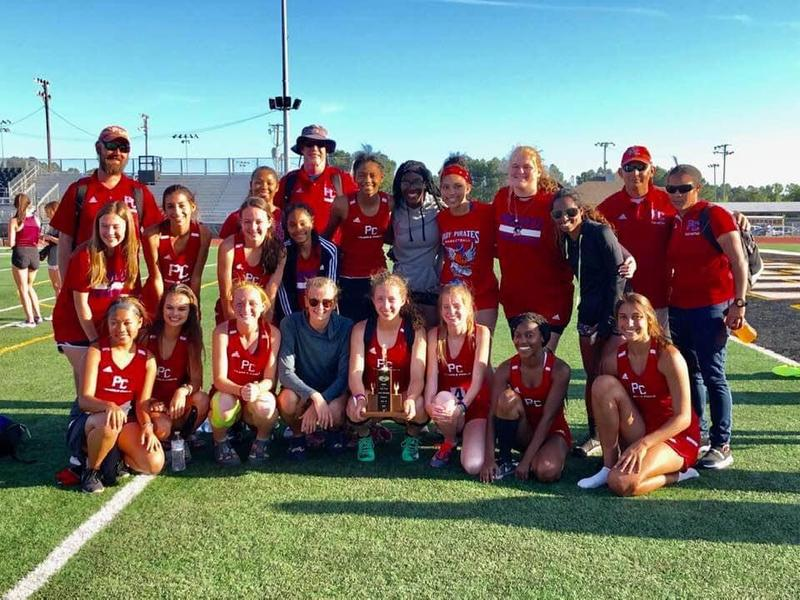 Girls Track Team - South State Champs