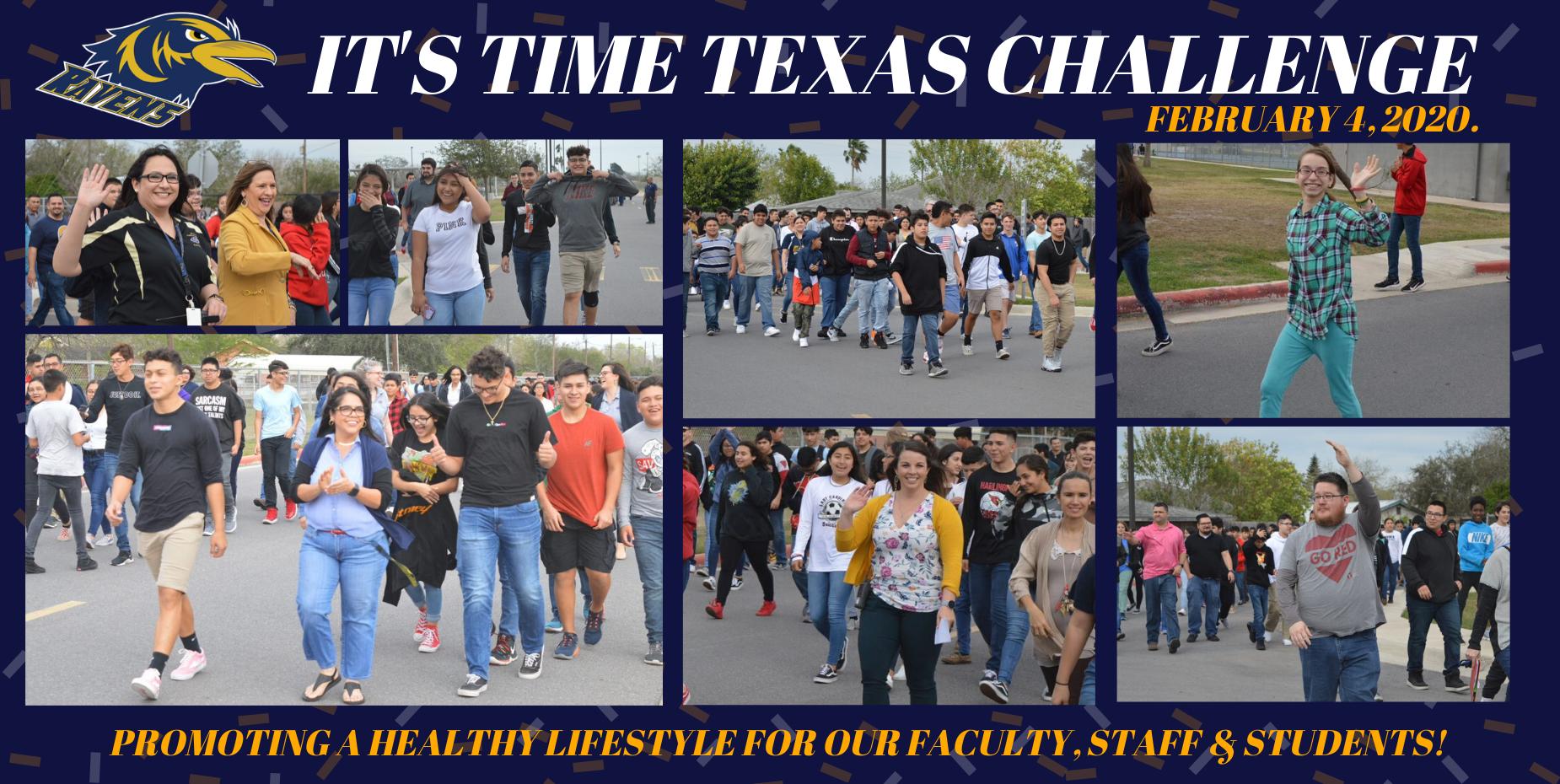 It's Time Texas Challenge