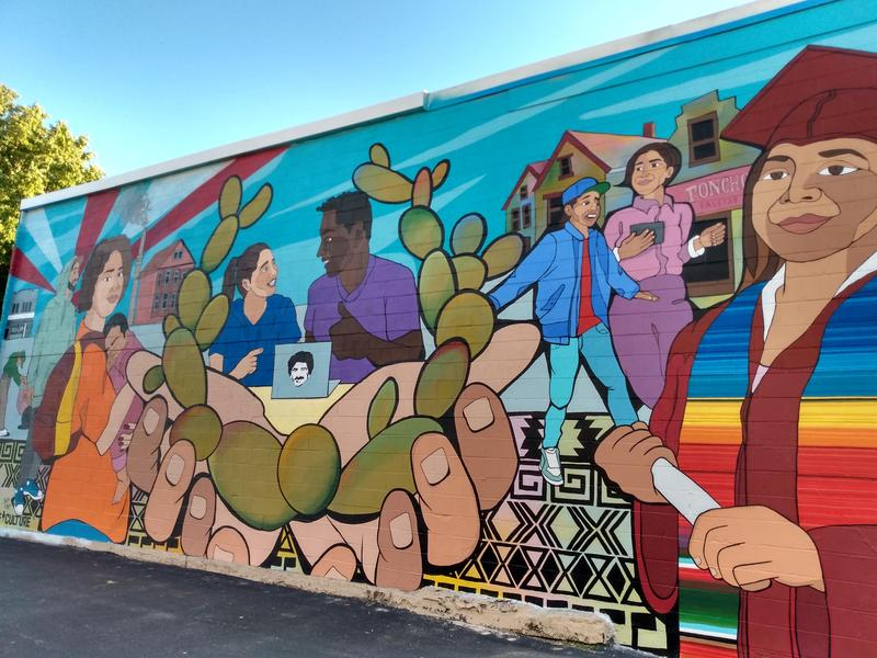 Provoke Culture Collaborates with IJLA Students to Create a Beautiful Mural Featured Photo