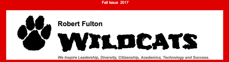 Robert Fulton's Wildcats Newspaper-Read the 4th Issue here! Featured Photo
