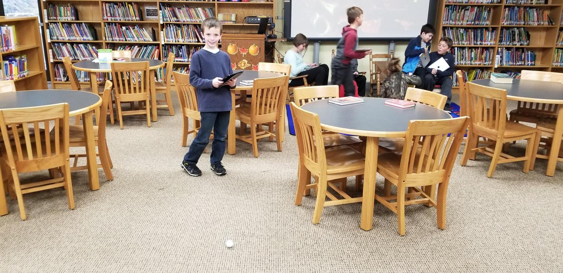 Using our Sphero Mini