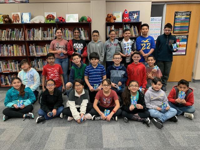 Dr. Seuss Challenge 5th grade winners