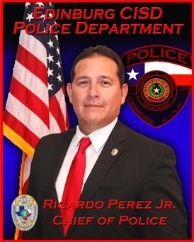 Image of Ricardo Perez Jr. Chief of Police