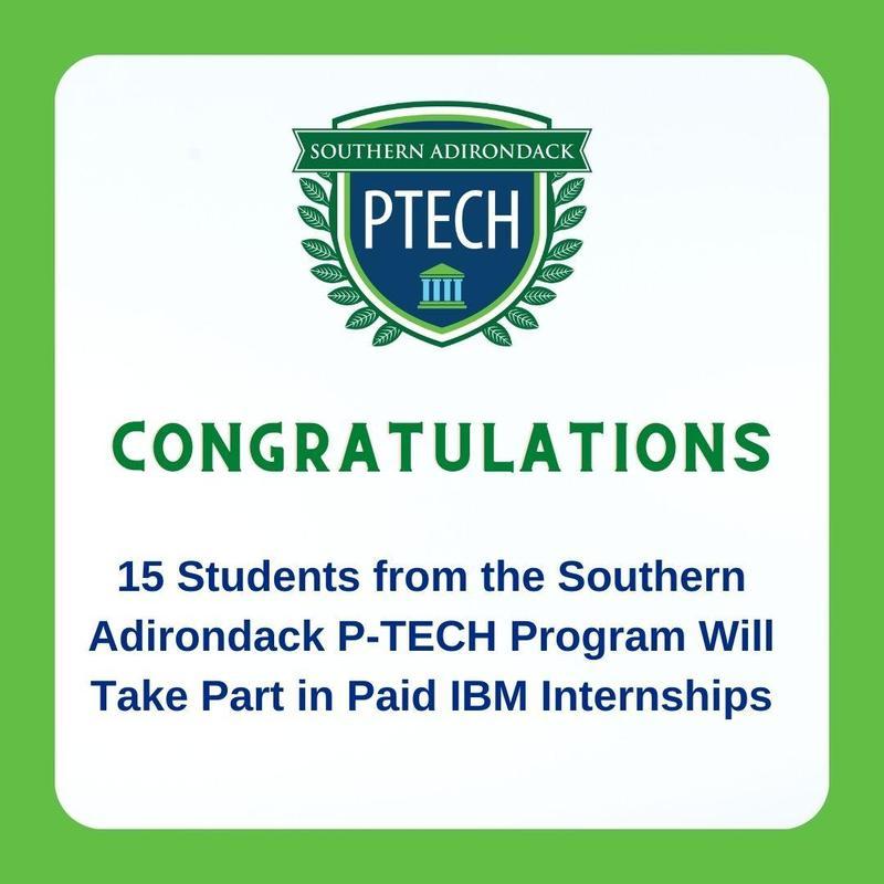 PTECH Students get IBM internships