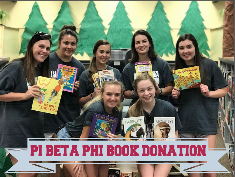Pi Beta Phi Book Drive and Donation Featured Photo