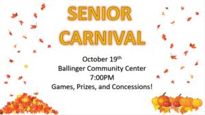 Senior Carnival