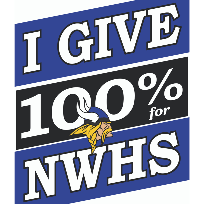 I give 100% for NWHS