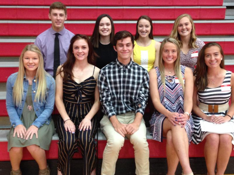 Seniors were awarded Goshen Alumni Association scholarships at the 121st Annual Alumni Banquet!