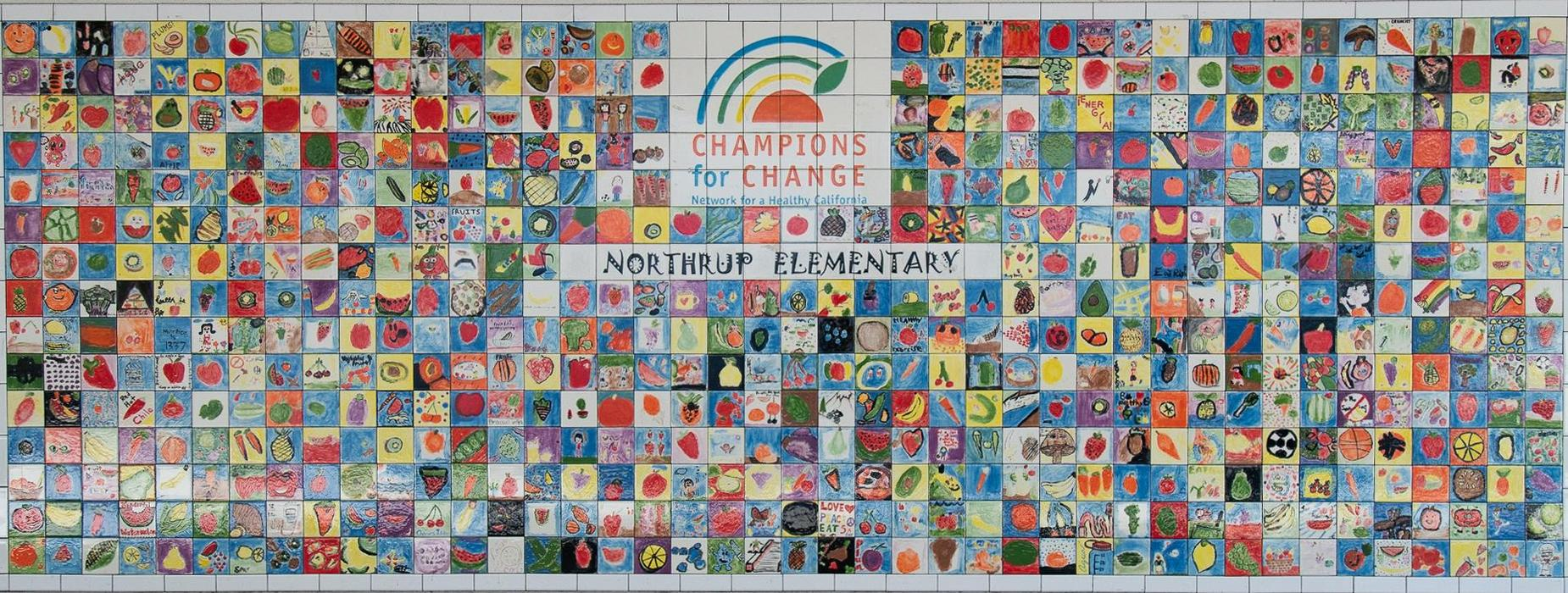 Northrup Champions for Change Artwork