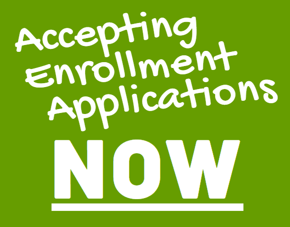 Accepting enrollment applications NOW! Click here to apply! Thumbnail Image
