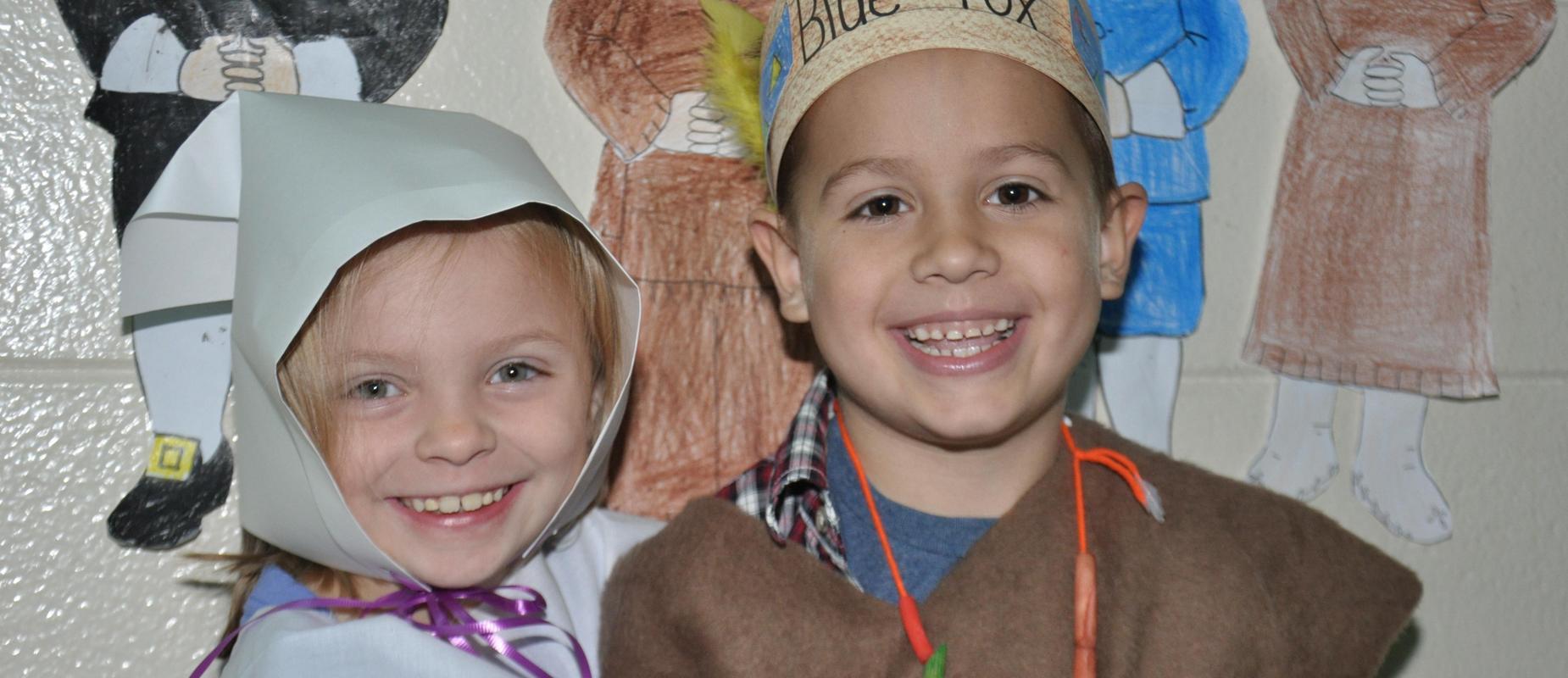 Mission Road Kindergarten students celebrate thanksgiving
