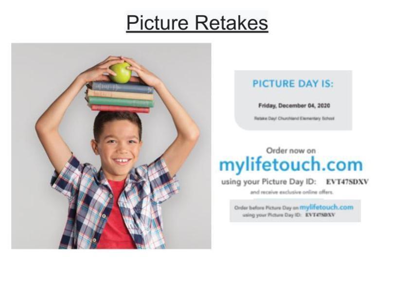 Picture Day RETAKES