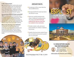 ESPLOST Info 2019