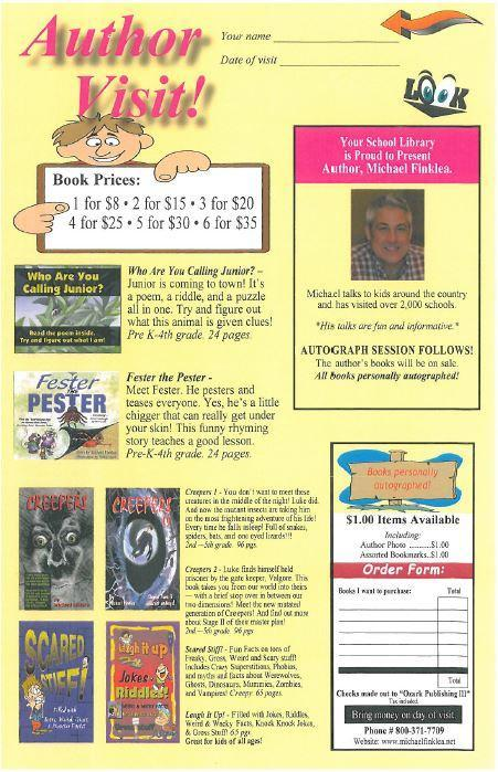 Guest Author to visit SCE! Featured Photo